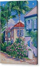 Caribbean Style   9x13 Acrylic Print by John Clark
