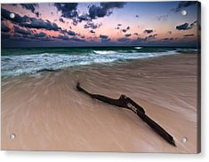 Acrylic Print featuring the photograph Caribbean Sunset by Mihai Andritoiu