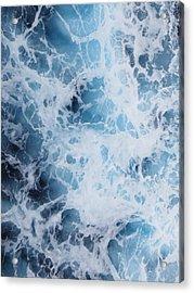 Caribbean Water Acrylic Print by Jean Marie Maggi