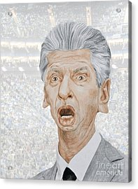 Caricature Of Wwe Owner Vince Mcmahon Acrylic Print