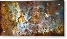Carina Nebula Acrylic Print by Adam Romanowicz