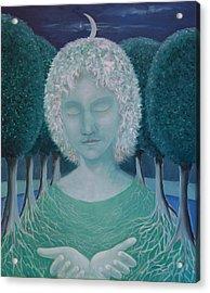 Carina Acrylic Print by Tone Aanderaa
