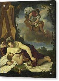Caritas, Copy After Guercino Acrylic Print by Litz Collection
