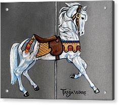 Carl Carmel Carousel Horse Acrylic Print