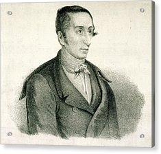 Carl Maria Von Weber Acrylic Print