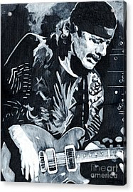 Carlos Santana - Black Magic Woman Acrylic Print