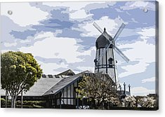 Carlsbad Windmill Acrylic Print