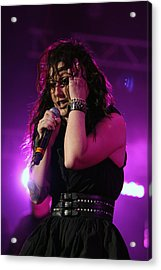 Carly In Concert Acrylic Print by Shoal Hollingsworth