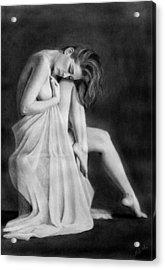 Carly Acrylic Print by Joseph Ogle