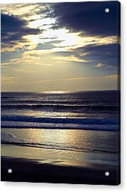 Carmel Beach Sunset Acrylic Print