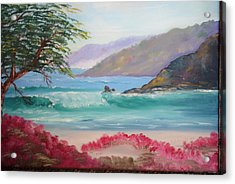 Carmel By The Sea. Ca. Acrylic Print