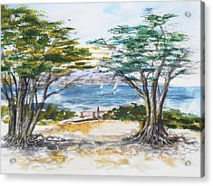 Carmel By The Sea California Acrylic Print