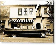 Carmel Cadillac Acrylic Print
