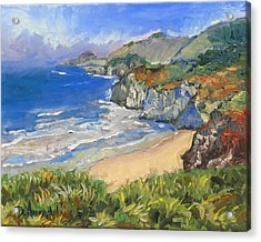 Carmel Coast Acrylic Print by Dominique Amendola