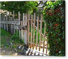 Carmel Gate Acrylic Print