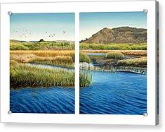 Carmel Lagoon Acrylic Print