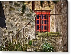 Carmel Mission 10 Acrylic Print by Ron White