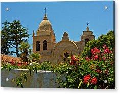 Carmel Mission, Carmel, California, Usa Acrylic Print