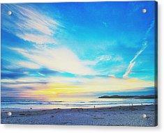 Carmel Sunset Five Acrylic Print