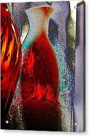Carmellas Red Vase 1 Acrylic Print