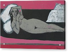 Carmena Resting Acrylic Print by Endre Roder