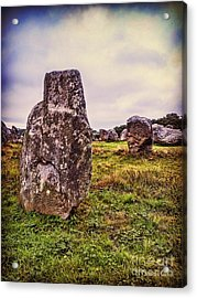 Carnac Acrylic Print by Colin and Linda McKie