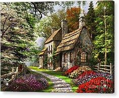 Carnation Cottage Acrylic Print by Dominic Davison