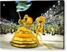 Carnaval - Brazil 2016 Acrylic Print by Global_Pics