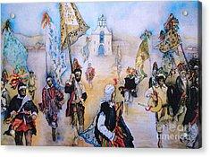 Carnaval In Chiapas II Acrylic Print