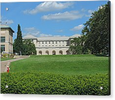 Carnegie Mellon University Acrylic Print by Cityscape Photography