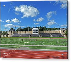 Carnegie Mellon University Football Field Acrylic Print by Cityscape Photography