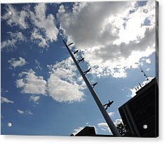 Carnegie Mellon University Walking To The Sky Acrylic Print by Cityscape Photography
