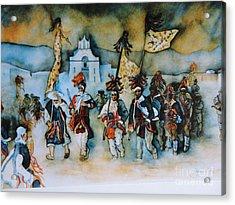 Carneval En Chiapas Acrylic Print