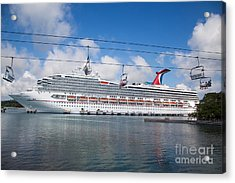 Carnival Conquest Acrylic Print by Rene Triay Photography