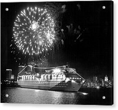 Carnival Cruise Line ecstasy Acrylic Print