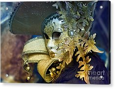 Carnival In Venice 18 Acrylic Print by Design Remix