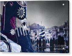 Carnival In Venice 20 Acrylic Print