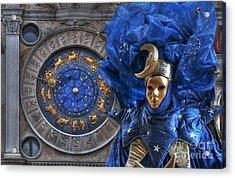 Carnival In Venice 3 Acrylic Print