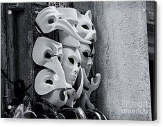 Carnival In Venice Acrylic Print