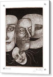 Carnival Acrylic Print by Joanne Ehrich