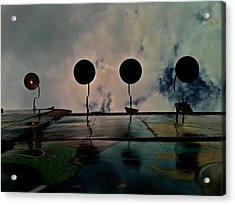 Carnival Light Acrylic Print