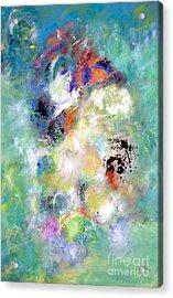 Carnival Ride - Pegasus Acrylic Print by Jason Stephen