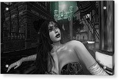 Carnivale - The Yearning Acrylic Print by Amanda Holmes Tzafrir
