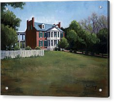 Carnton Plantation In Franklin Tennessee Acrylic Print by Janet King
