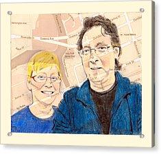 Carol And Gord Of London Acrylic Print