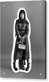 Carol Burnett Dressed As A Match-girl Acrylic Print by Leonard Nones