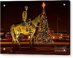 Acrylic Print featuring the photograph Carol Of Lights by Mae Wertz