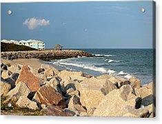 Acrylic Print featuring the photograph Carolina Coast by Cynthia Guinn
