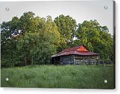 Acrylic Print featuring the photograph Carolina Horse Barn by Ben Shields