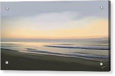 Carolina Morning Glory Acrylic Print by Anthony Fishburne